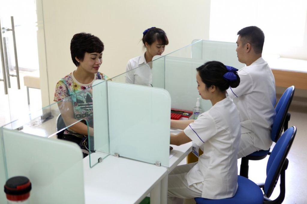 Hệ thống máy siêu âm màu 2D, 4D hiện đại nhất cũng được trang bị tại bệnh viện Tâm Anh