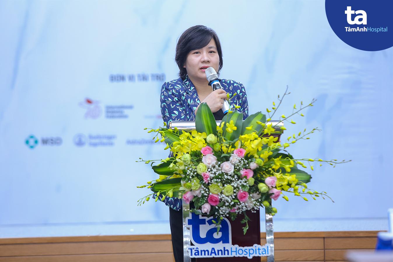 PGS.TS Vũ Thanh Huyền – Trường Đại Học Y Hà Nội