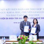 Lễ ký kết hợp tác Bệnh viện Đa khoa Tâm Anh & Viện công nghệ sinh học