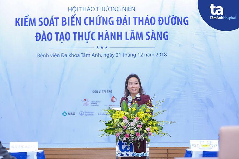 PGS.TS Hồ Thị Kim Thanh - Bệnh Viện Lão Khoa Trung Ương