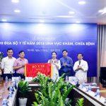 BVDK Tâm Anh, Hà Nội vinh dự đón nhận cờ thi đua của bộ y tế trong lĩnh vực khám, chữa bệnh