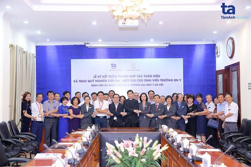 BVĐK Tâm Anh trở thành bệnh viện ngoài công lập đầu tiên ký kết hợp tác toàn diện với trường Đại học Y Hà Nội