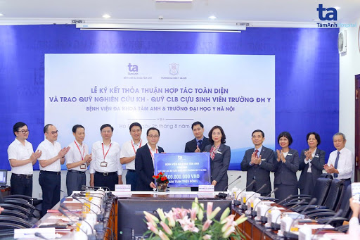 Việc tài trợ cho quỹ nghiên cứu khoa học cho thấy quyết tâm của BVĐK Tâm Anh, Hà Nội trong việc đầu tư vào tương lai của nền phát triển y học nước nhà