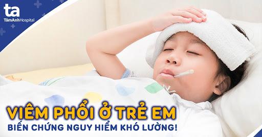 Trẻ em dưới 5 tuổi là nhóm đối tượng dễ mắc bệnh viêm phổi