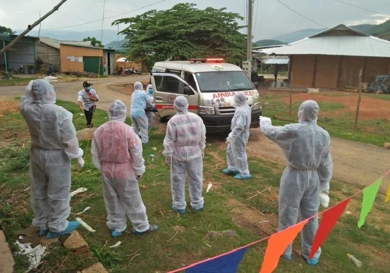 Bệnh bạch hầu bùng phát tại Đắk Nông