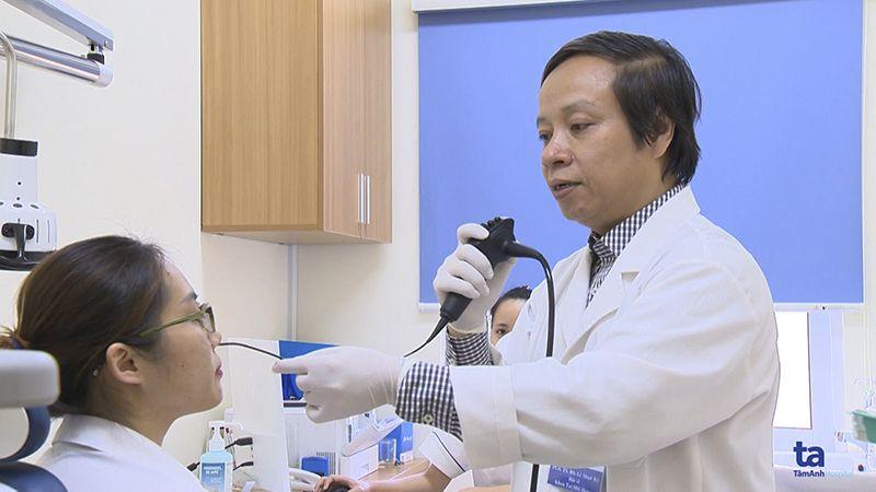PGS.TS.BS Lê Minh Kỳ điều trị thành công nhiều ca bệnh Tai – Mũi – Họng phức tạp