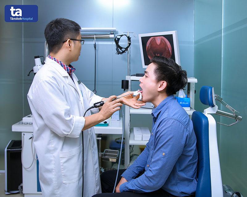 Hệ thống nội soi ống mềm có khả năng quan sát sâu bên trong khe mũi, tai, họng và thanh quản chẩn đoán chính xác các bệnh viêm đường hô hấp trên