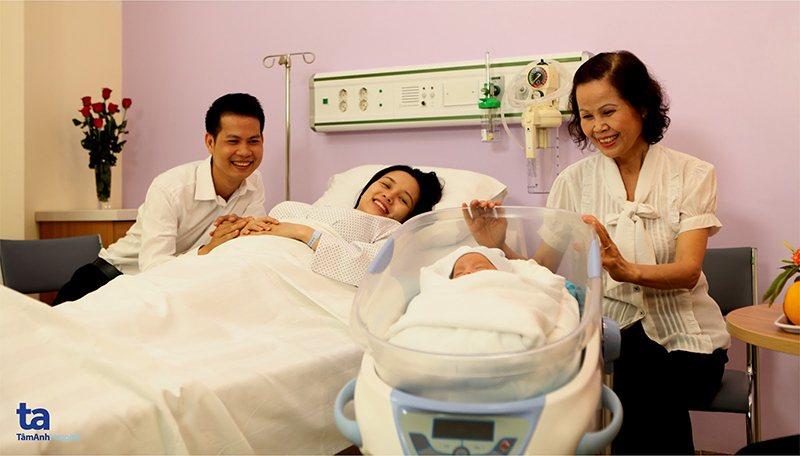 Dịch vụ thai sản trọn gói chất lượng 5 sao