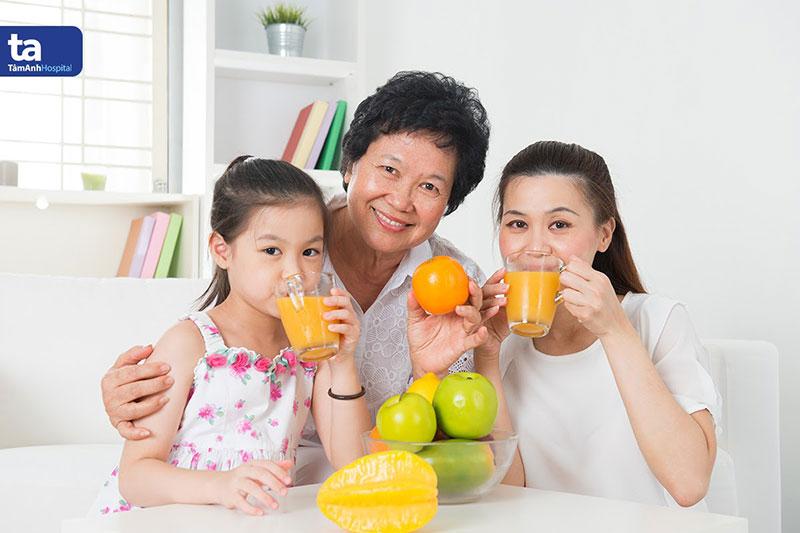 Chế độ dinh dưỡng khoa học kết hợp vận động đúng cách giúp nâng cao đề kháng tránh bệnh tái phát