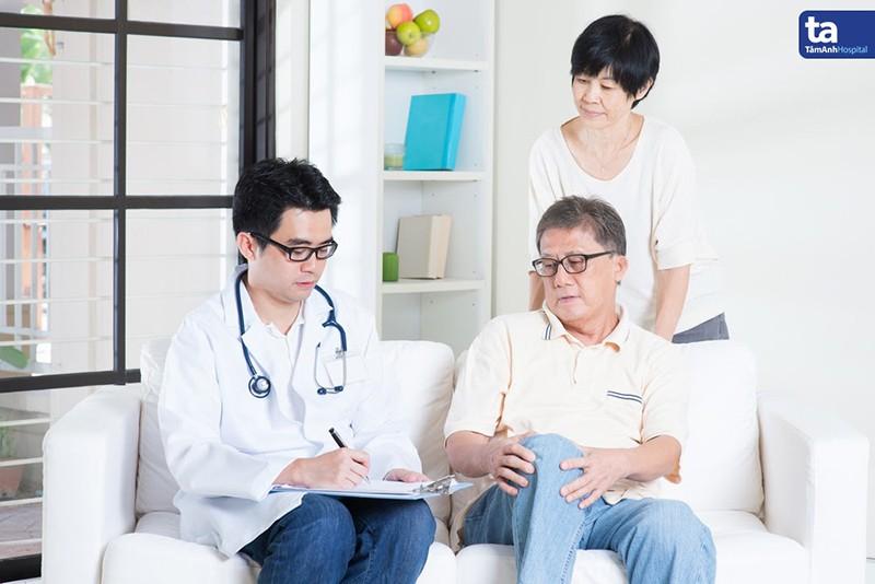 Sau tuổi 40 - 50, dấu hiệu thoái hóa khớp bắt đầu xuất hiện, đa số ở khớp háng và khớp gối.