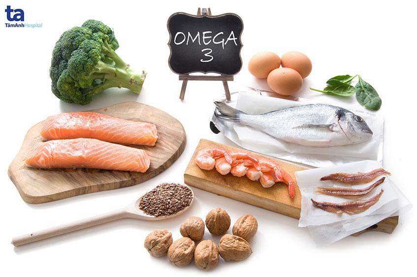 thuc pham giau omega 3