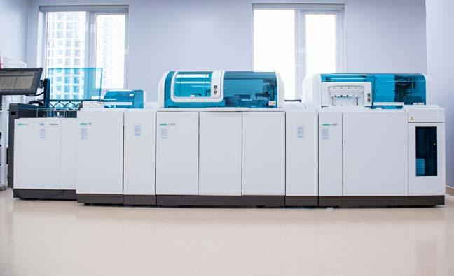 Hệ thống máy xét nghiệm cao cấp
