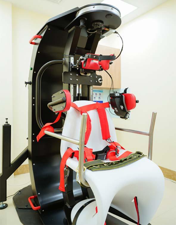 Hệ thống thiết bị chẩn đoán, điều trị rối loạn tiền đình