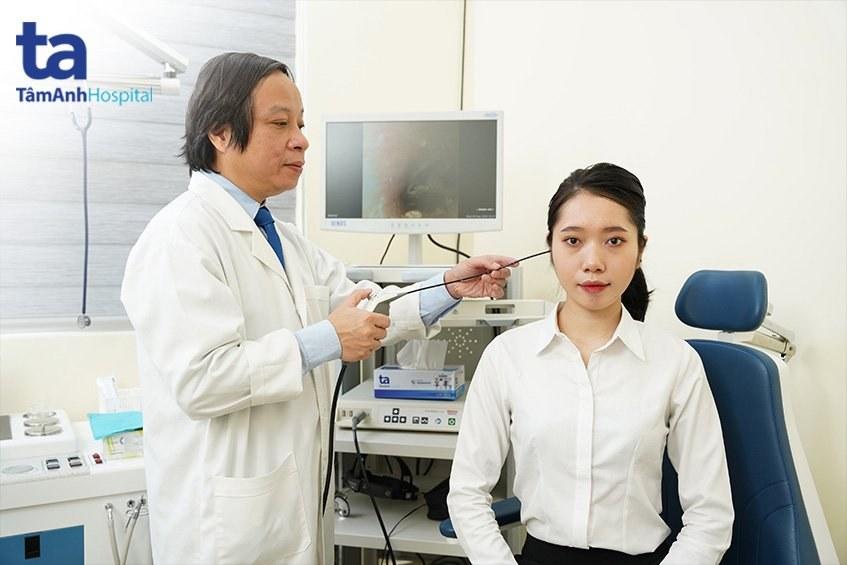 bác sĩ Lê Minh Kỳ khám và điều trị tại bv Tâm Anh